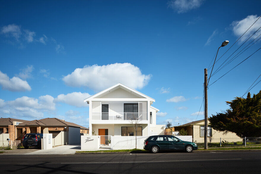 Townhouse Development on a Tight Site in Melbourne / Steffen Welsch Architects