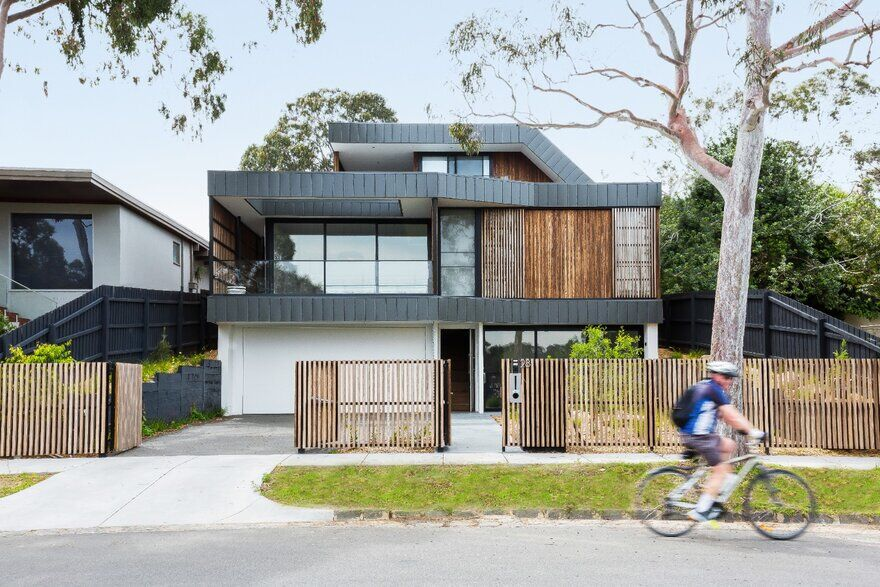 Contemporary Multi-Generational House With Sustainable Features