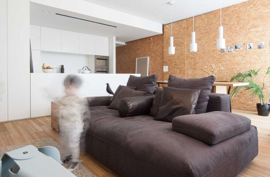 A Home-Remodeling for a Young Couple in Castelfranco Veneto, Italy