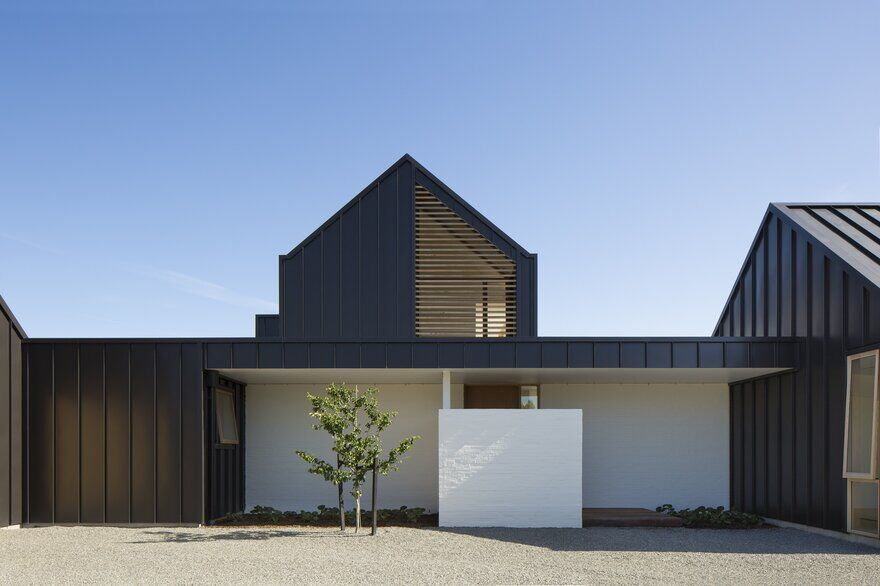 Ryan House By Arthouse Architects Is A Contemporary Take On The Gable Form