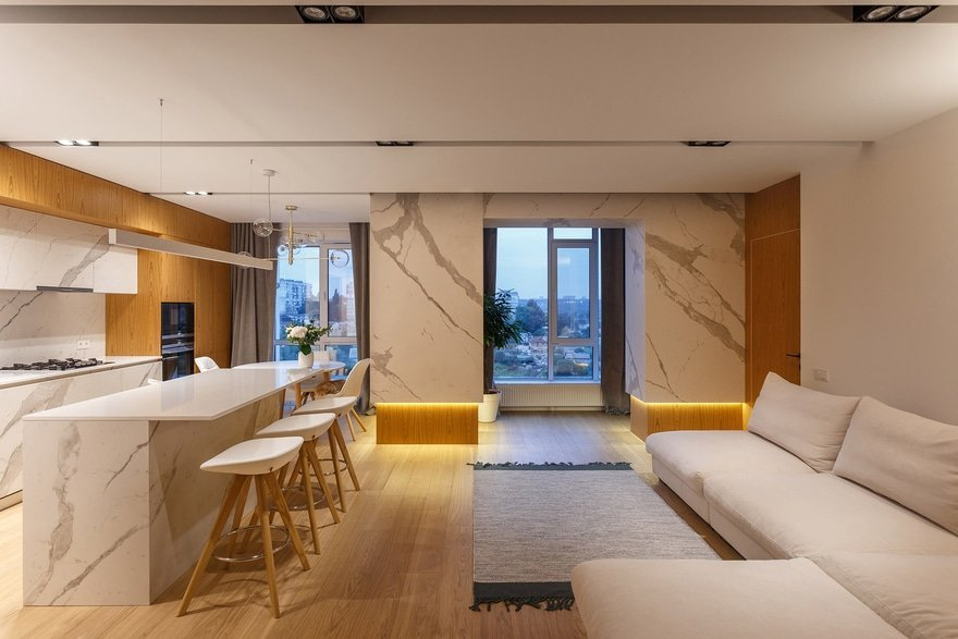 Levitation Apartment in the City of Dnipro / Svoya Studio