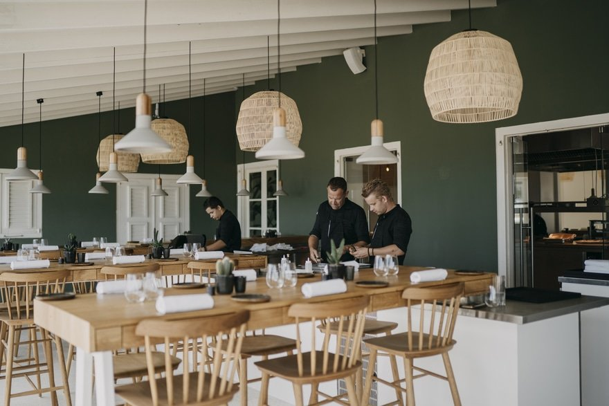 Restaurant 020 - A Historic Manor House is Transformed into a Restaurant and Beach Club