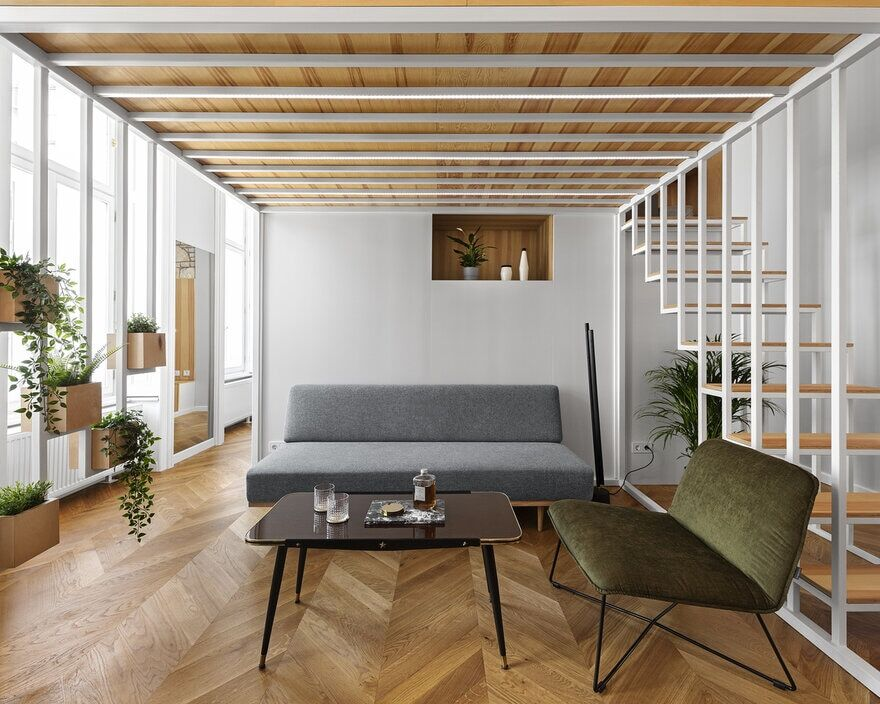 Redesign of a Bourgeois Apartment in Downtown Budapest