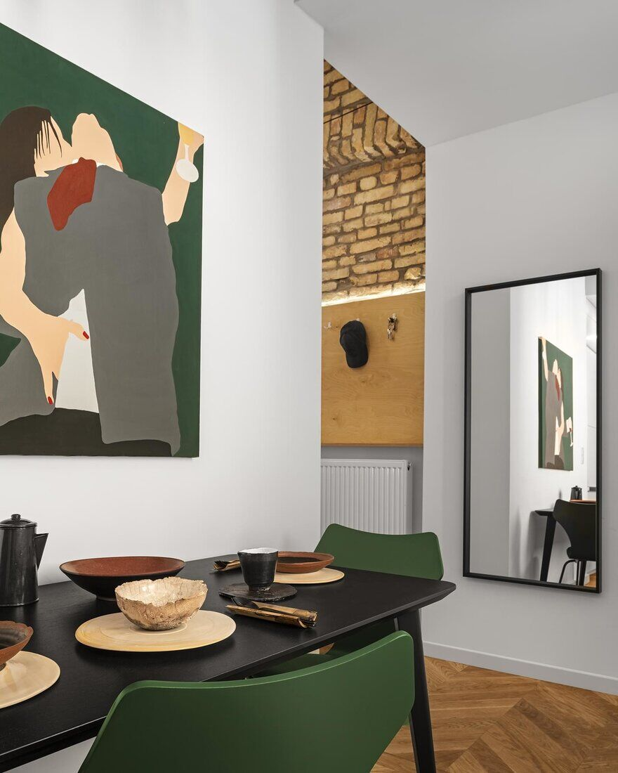 dining room, Architres Studio