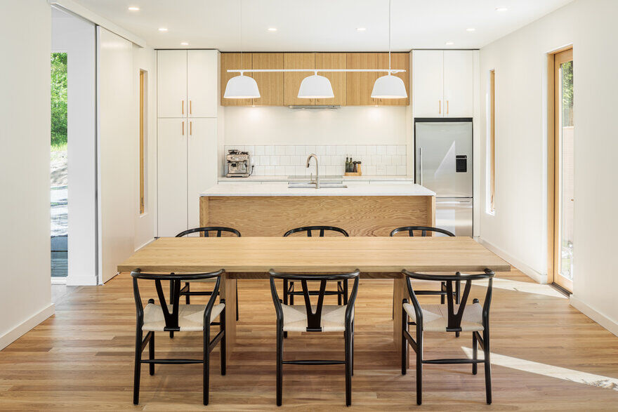 dining room by Studio MM Architect