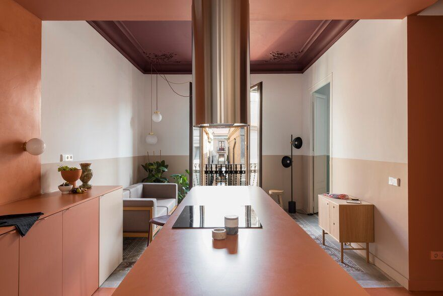 Klinker Apartment in Barcelona / Colombo and Serboli Architecture