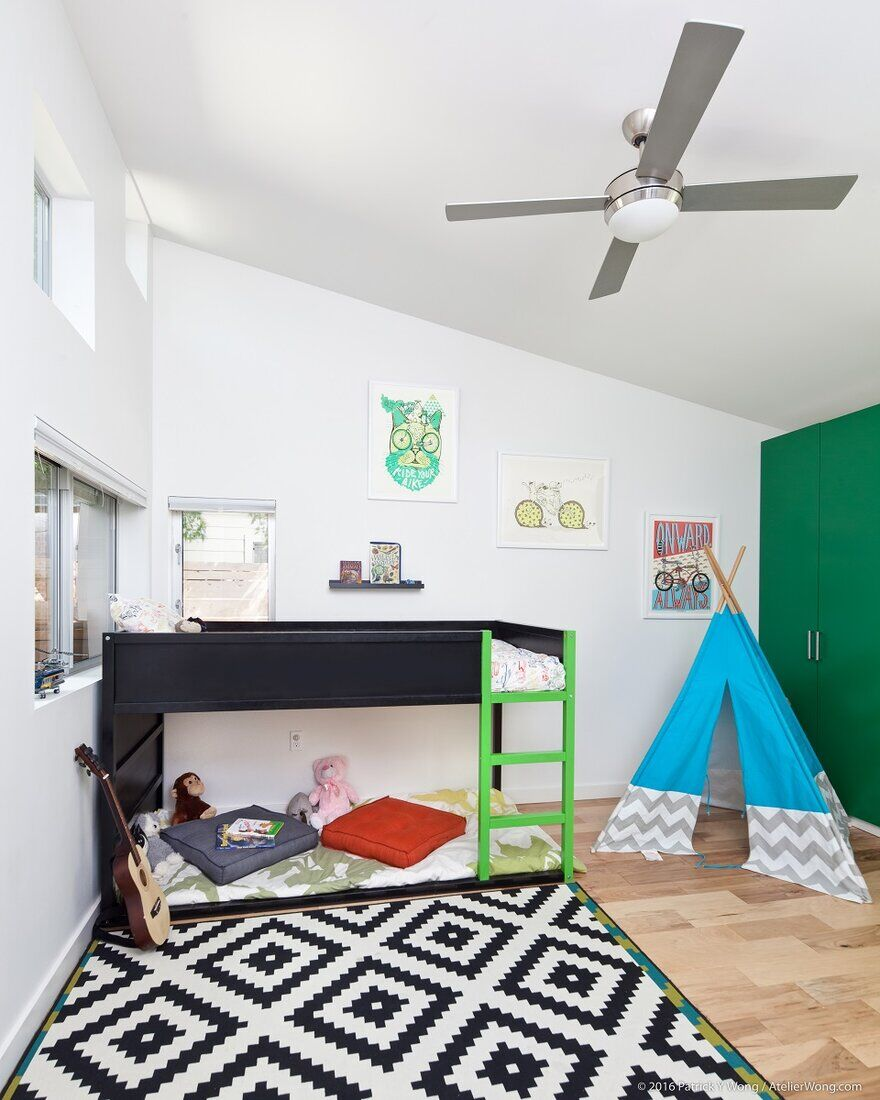 kids room, An Addition and Renovation to a 1960's Texas Ranch Style House