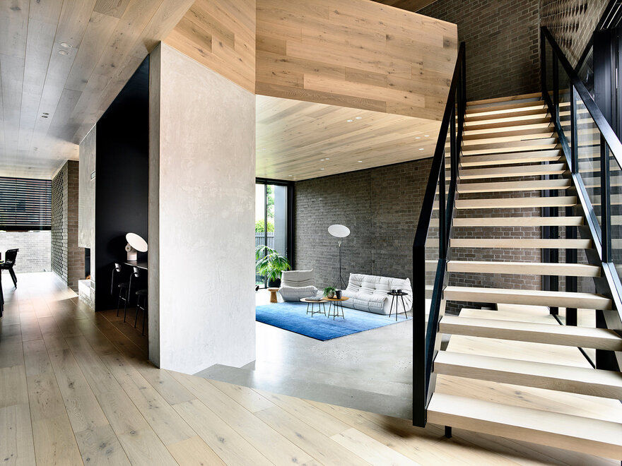 York Street Modern Residence / Jackson Clements Burrows Architects