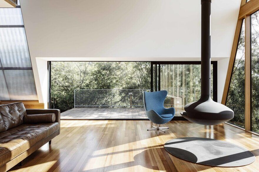 living room, Dock4 Architects