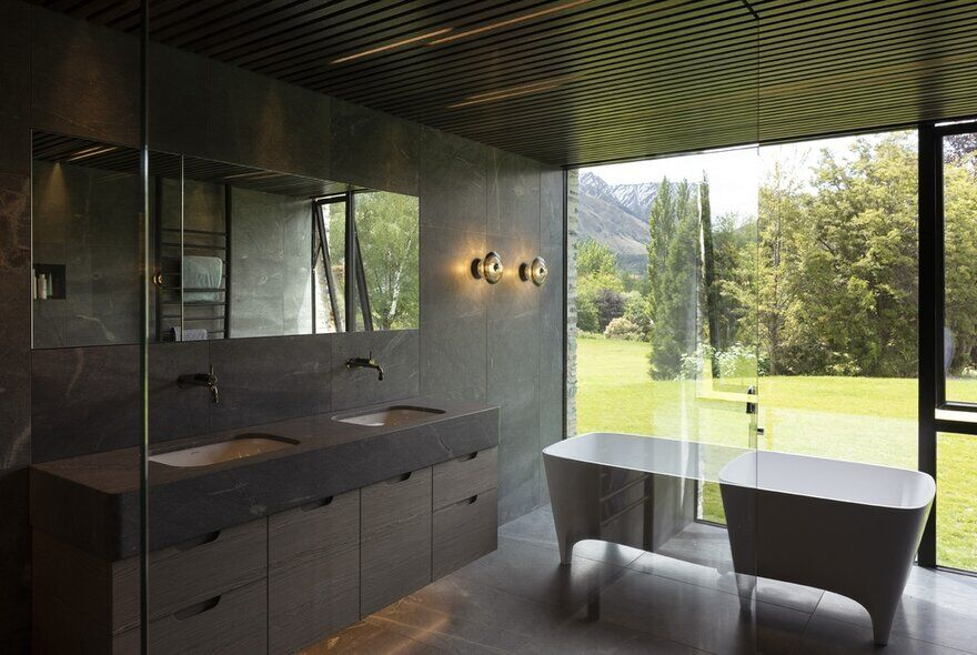 bathroom, RTA Studio