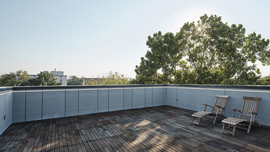 terrace roof / Nathan Fell Architecture