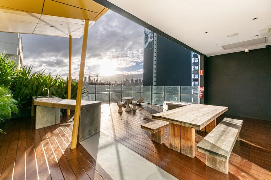 terrace by Finnis Architects
