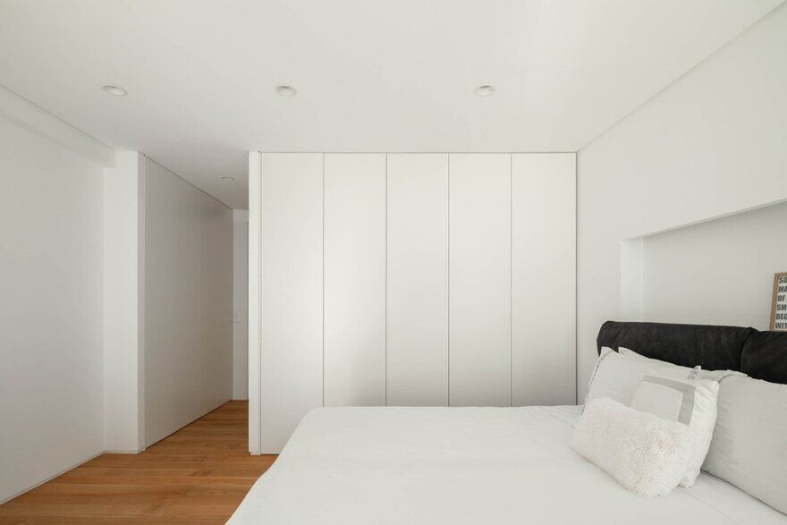 bedroom, Cascais, Portugal by Esquissos Architecture
