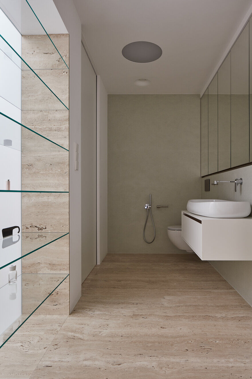 bathroom, Reconstruction of an Rural Residence by Atelier SAD