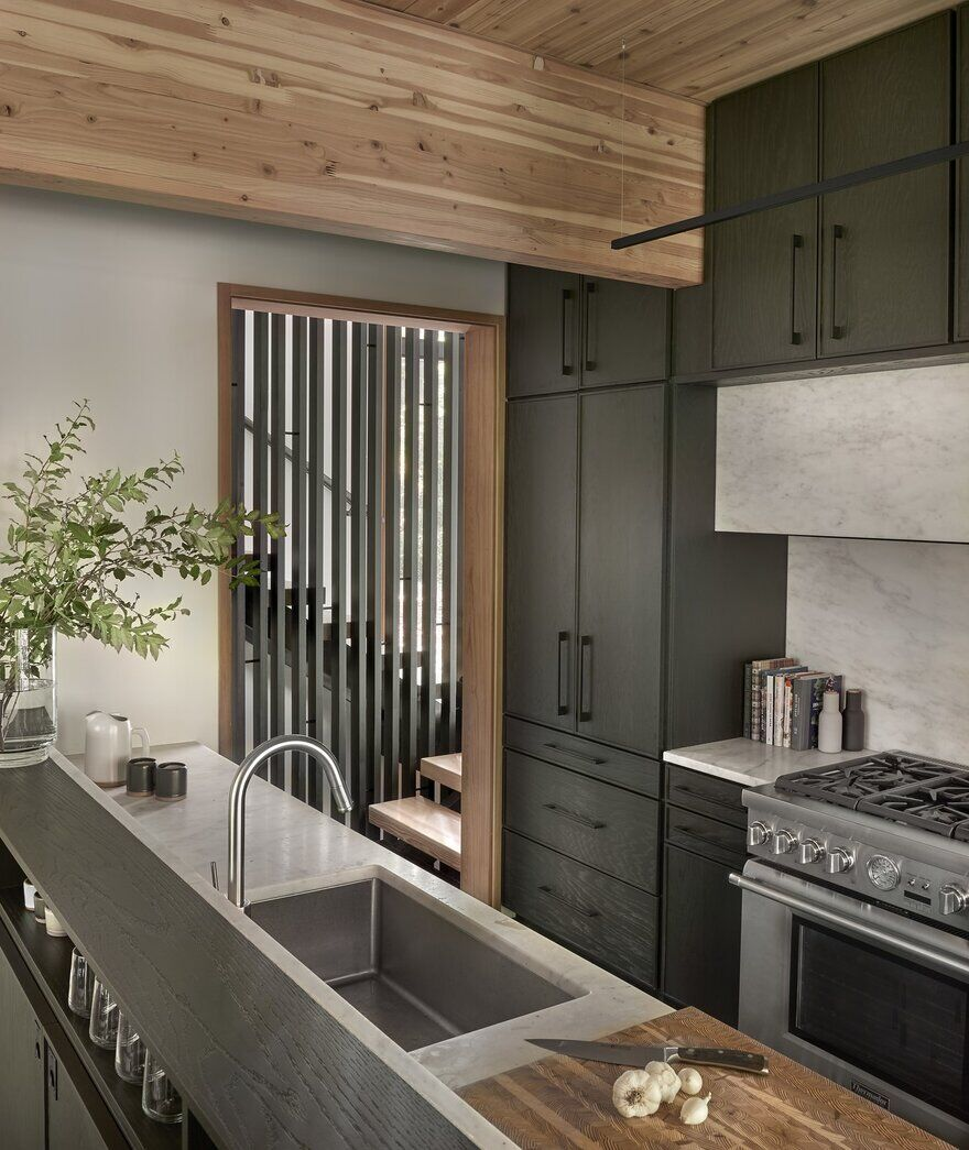 kitchen, Searl Lamaster Howe Architects