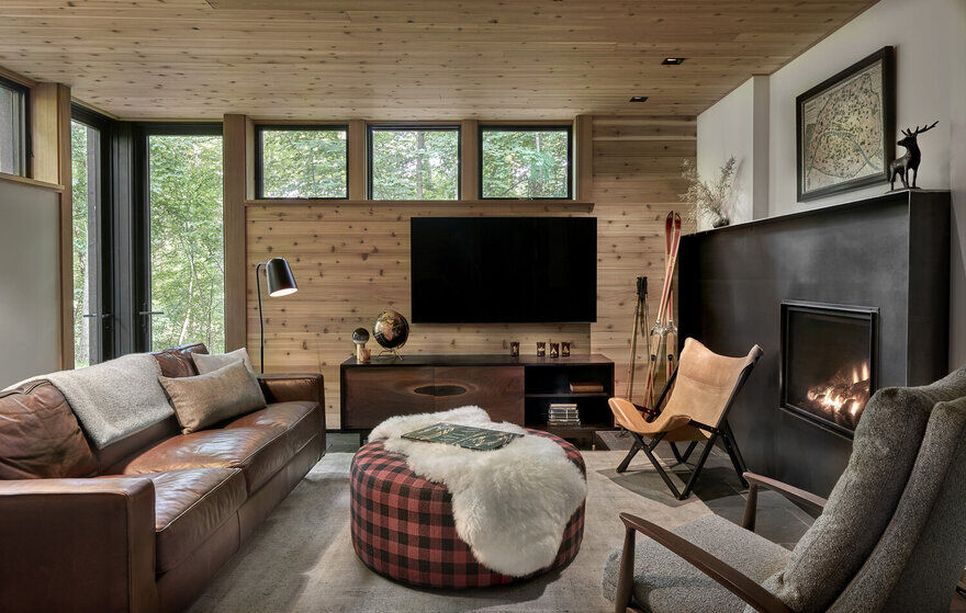 living room, Searl Lamaster Howe Architects