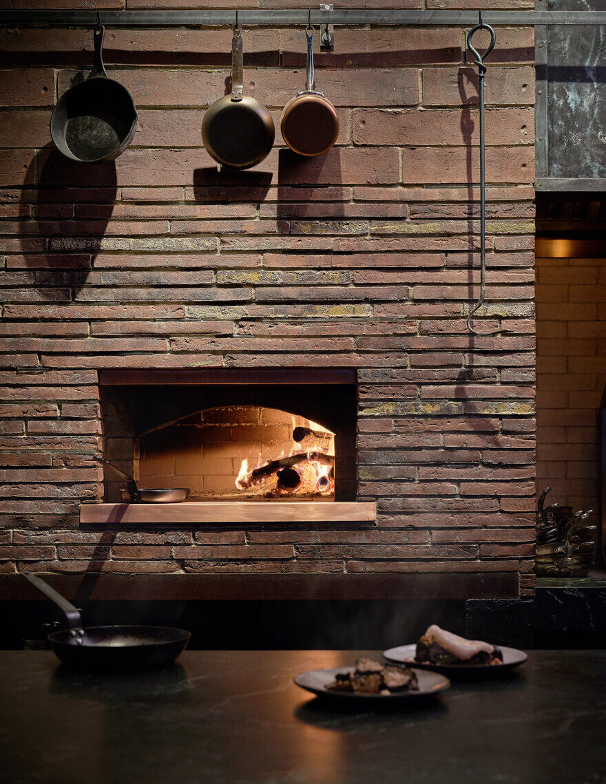 wood-fired grill, Mutuus Studio
