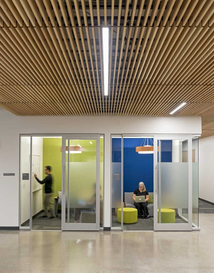 modern and inspiring workplace in San Jose, California / Noll & Tam Architects