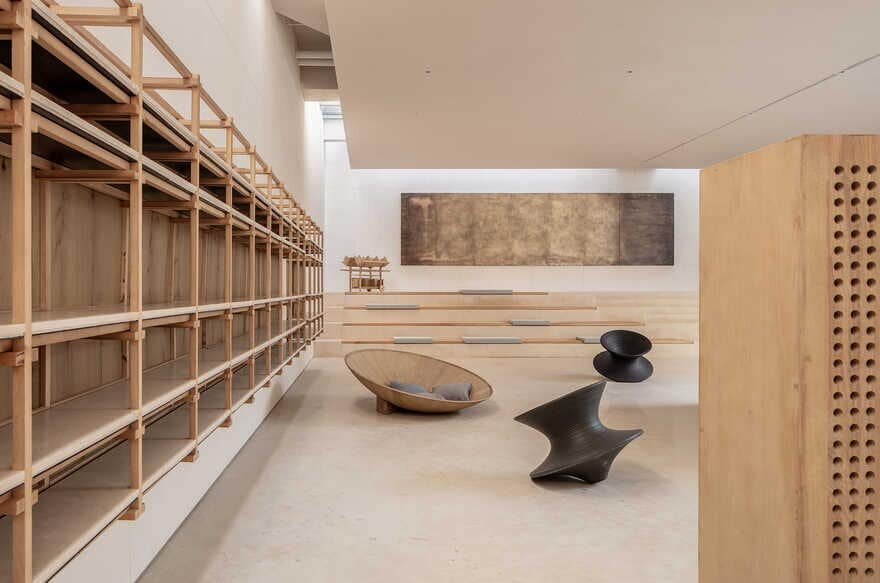 reading area, Xiamen, China / Waterfrom Design
