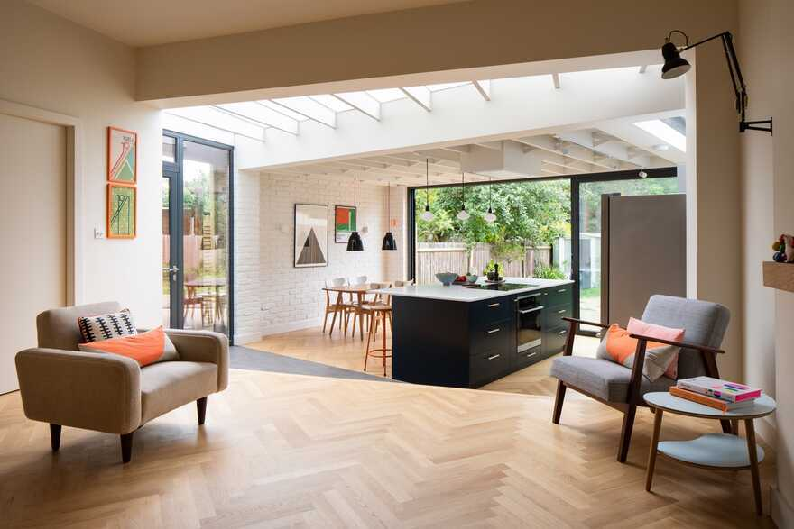 A Stitched Quilt, London / Turner Architects