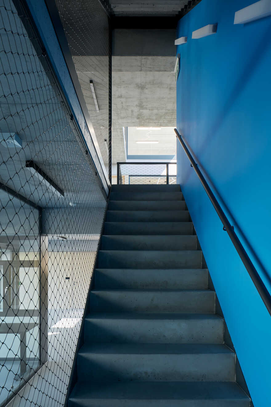 staircase, Ellement Architects
