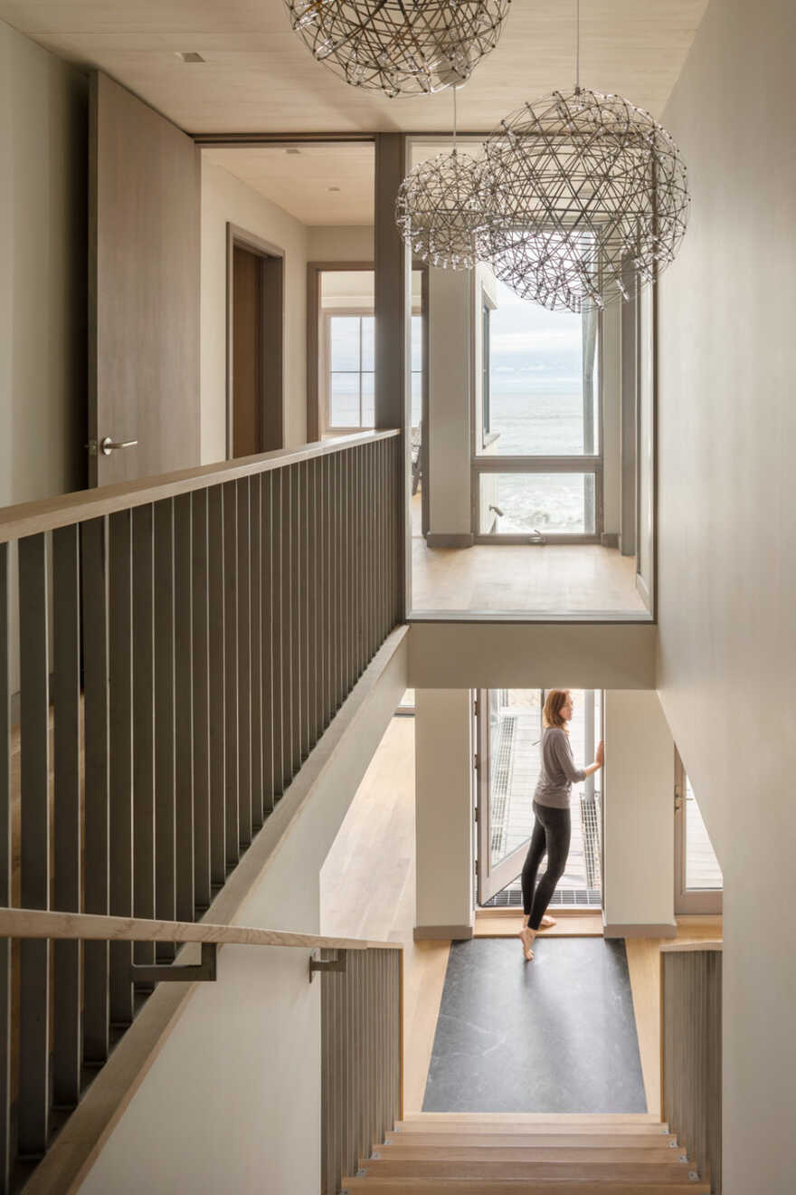 staircase, In the Dunes / Caleb Johnson Studio