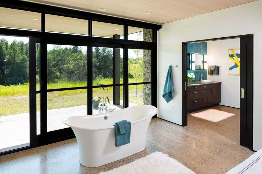 bathroom, Getaway for Family and Friends, Cushing Terrell