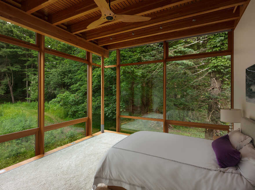 bedroom, Cutler Anderson Architects