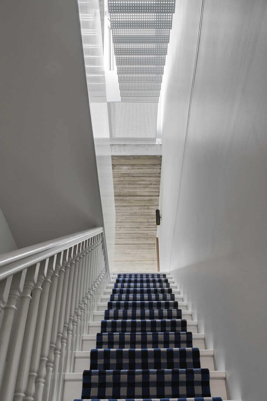staircase, Residential Alteration and Addition by Taylor Knights
