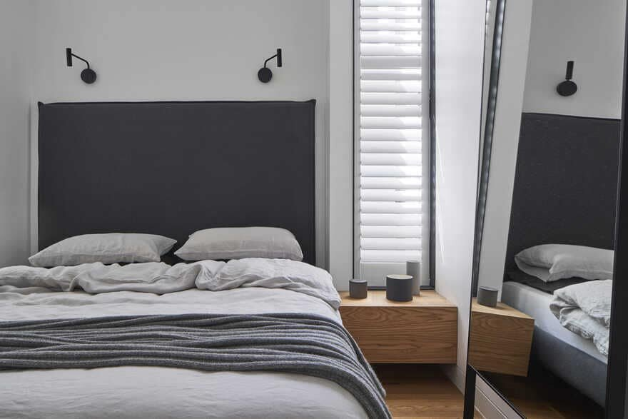 bedroom, Residential Alteration and Addition by Taylor Knights