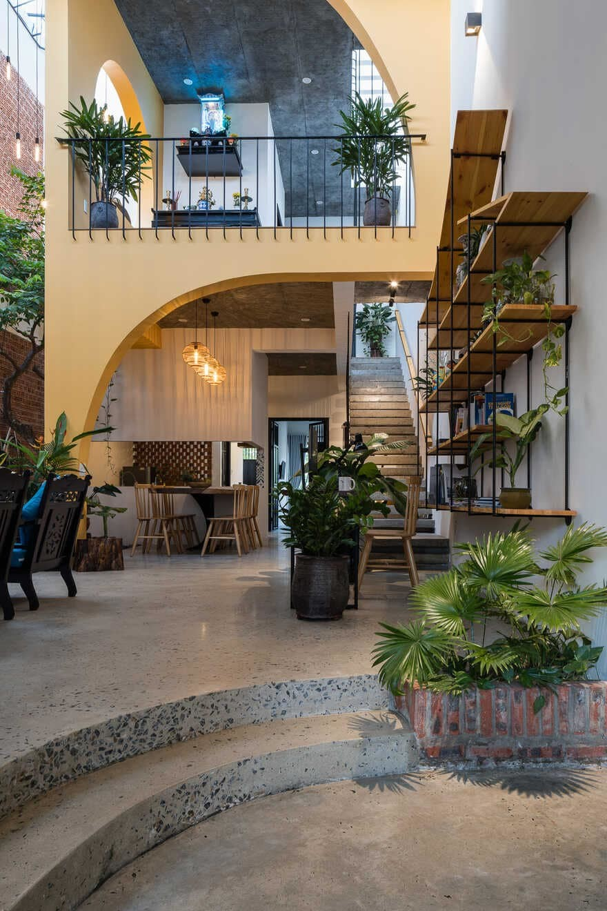 residential architecture, Quang Nam, Viet Nam / K.A.N Studio