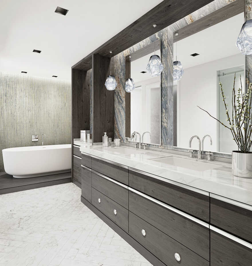 bathroom by Searl Lamaster Howe