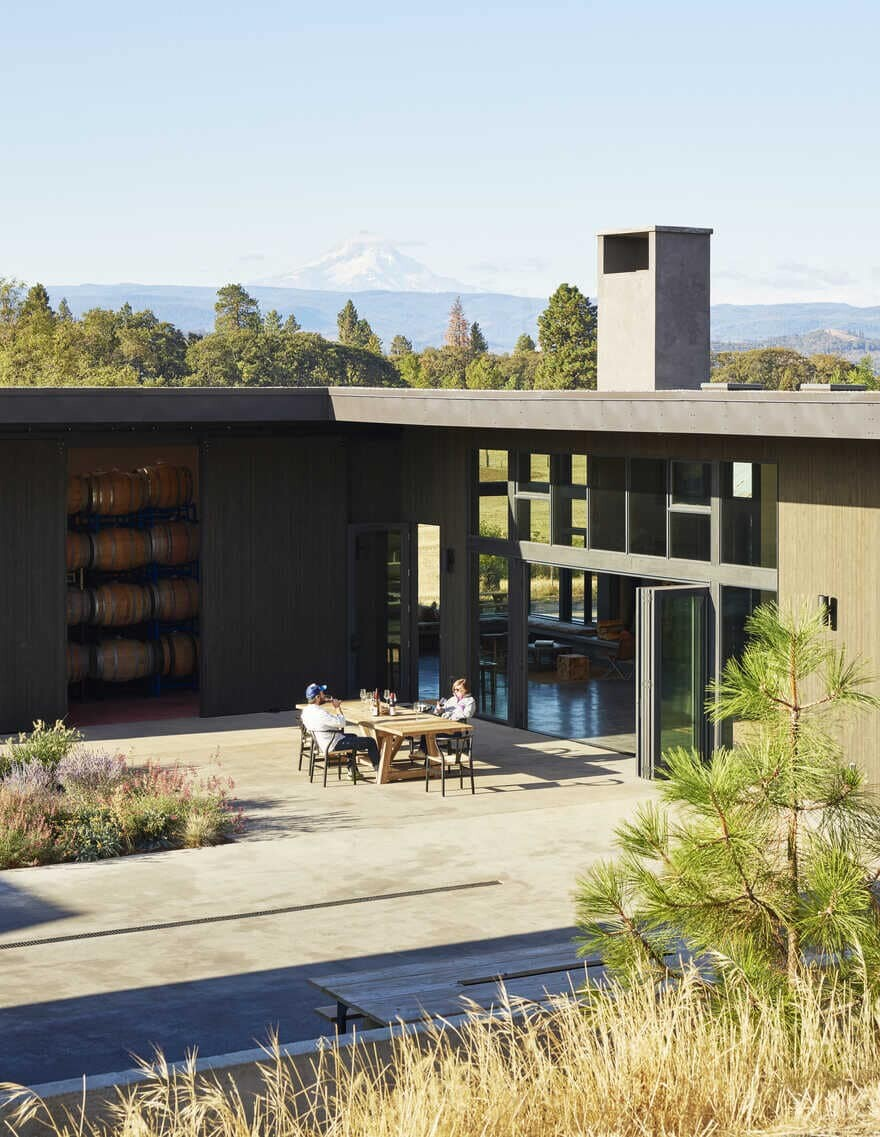 Winery and Tasting Room Designed by goCstudio in Lyle, Washington