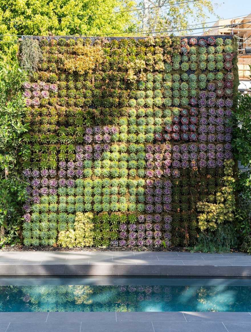 green wall / AUX Architecture