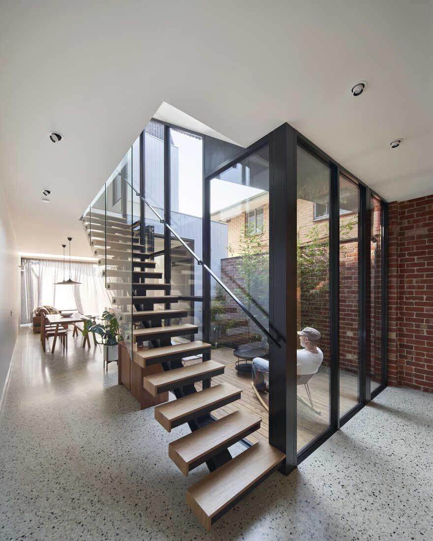 staircase / Megowan Architectural