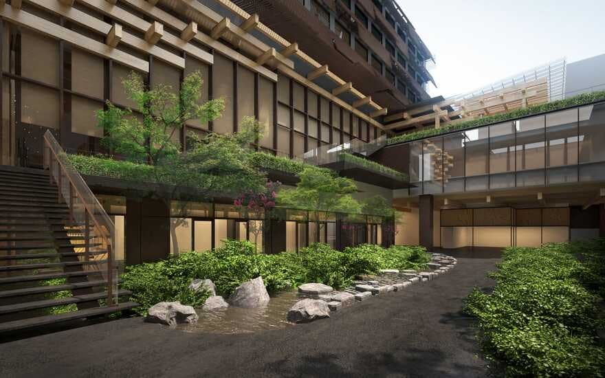 Ace Hotel Kyoto / Kengo Kuma and Associates