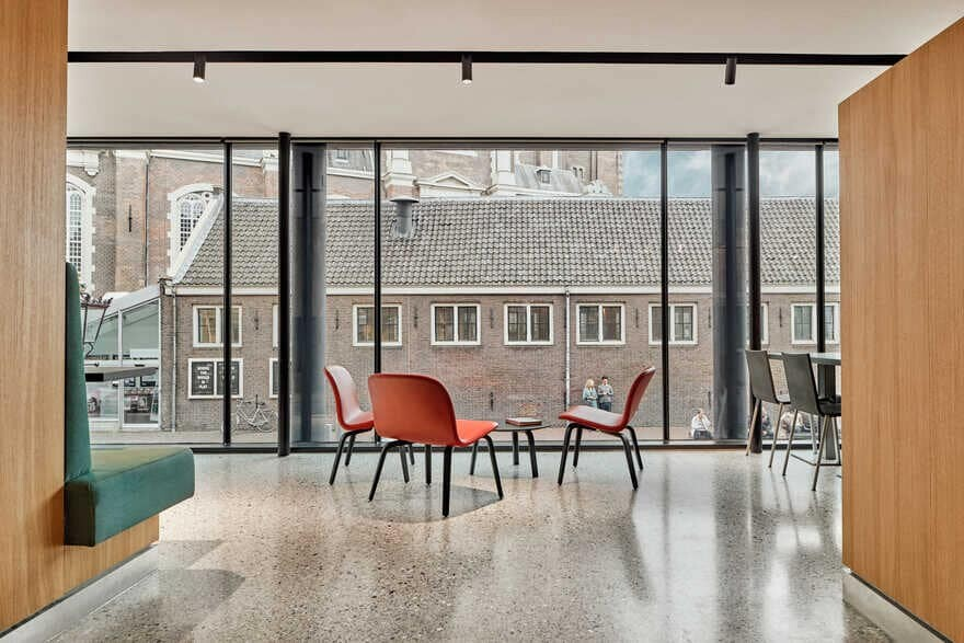 Namelok Completes Anne Frank House Museum Cafe in Amsterdam