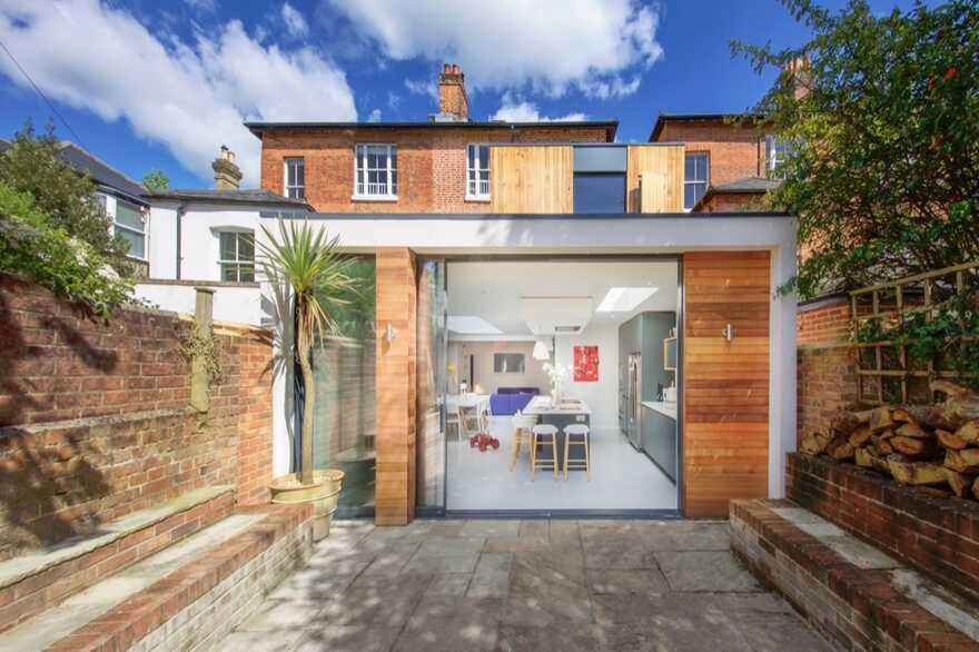 Contemporary Two Storey Extension to a Victorian House