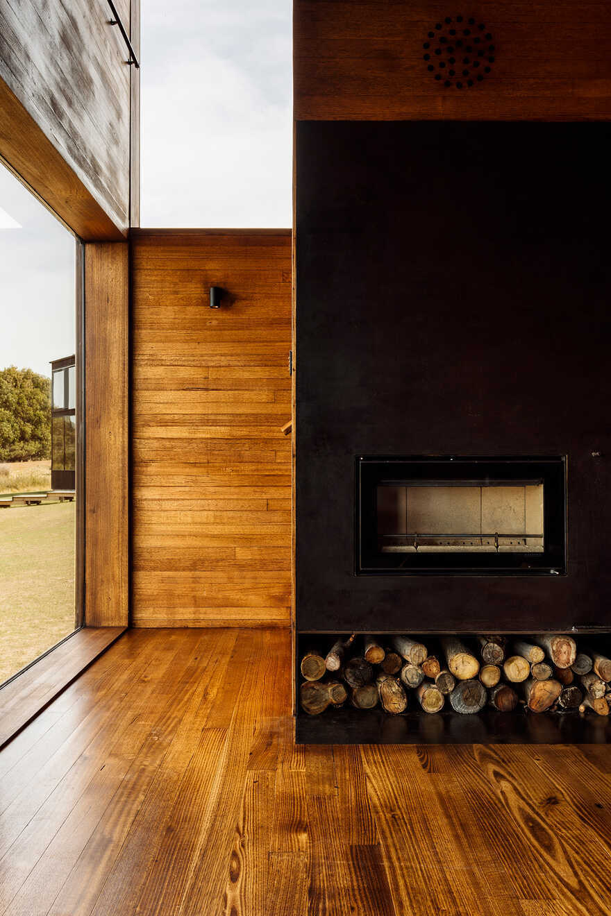 fireplace / Taylor and Hinds