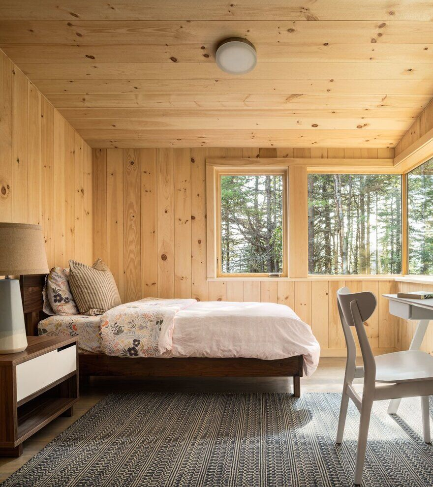 bedroom / Whitten Architects