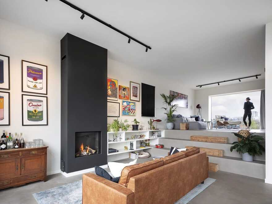living room / Arjen Reas Architecten