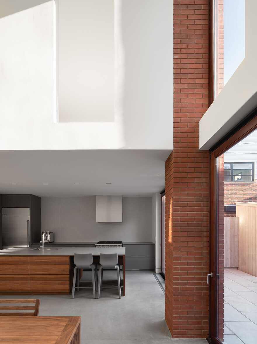 Montreal Brick House Natalie Dionne Architecture