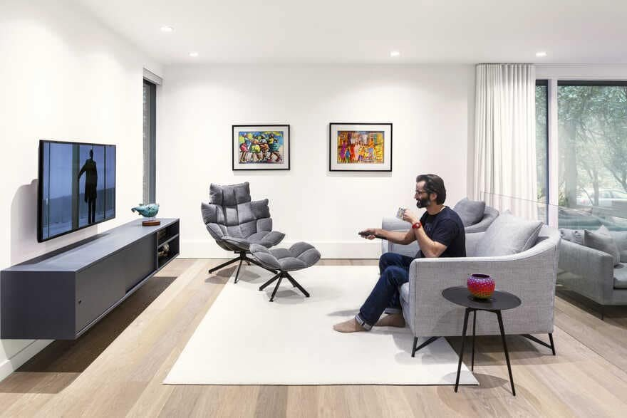 living room, Post Architecture