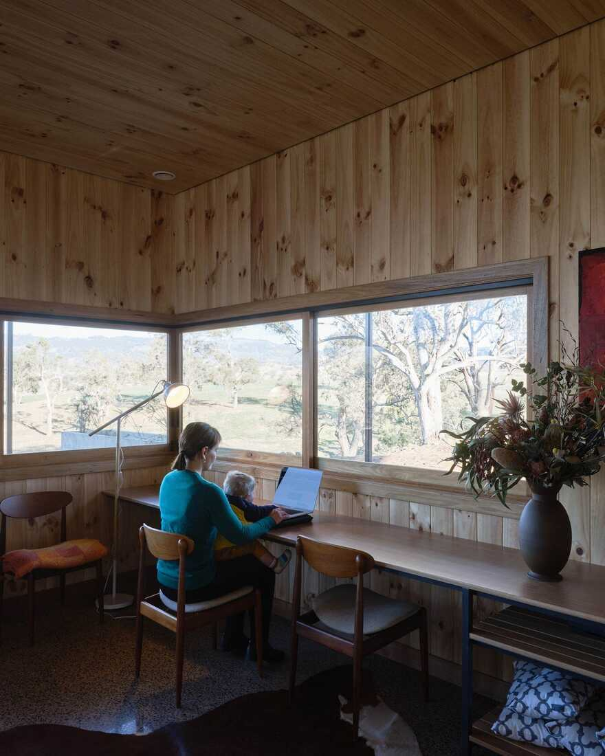 home office / Alexander Symes Architect