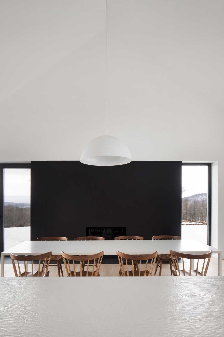 dining room / Thomas Balaban Architect