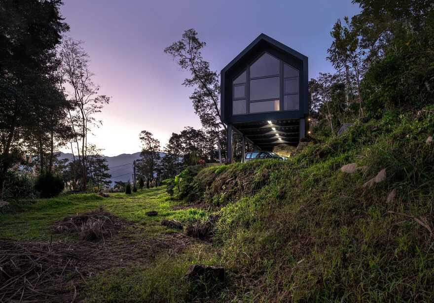 A Prefab Retirement Home on the Top of a Mountain