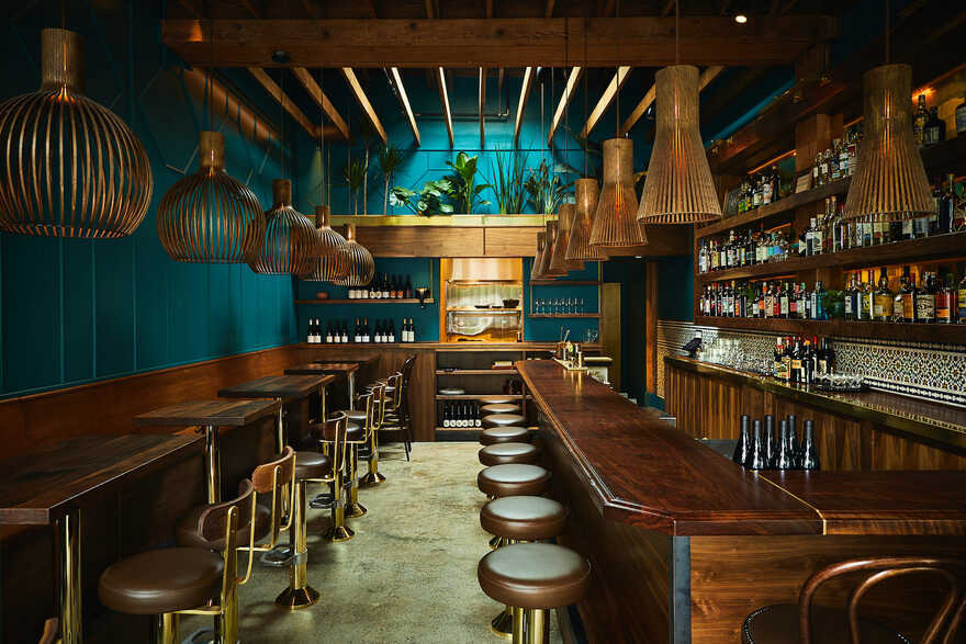 Rupee Restaurant, Seattle / Heliotrope Architects
