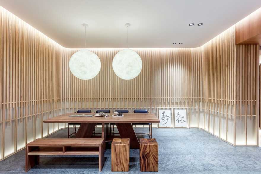 dining room, Macau / Inward Journey from Max Lam Designs Wins Frame Award