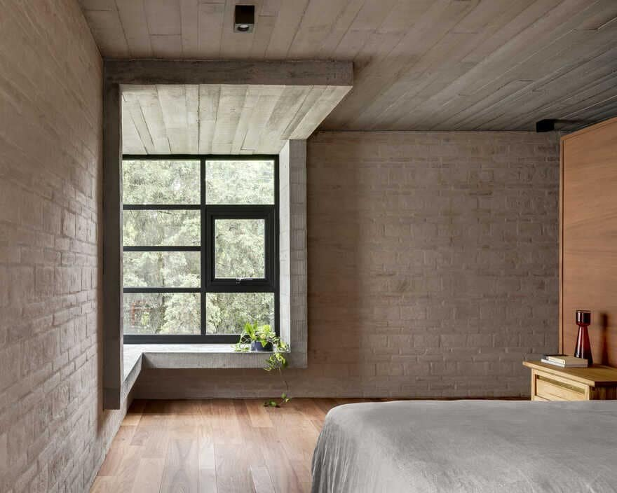 bedroom, Mexico City / Sebastian Mariscal Studio & Alfonso Frade