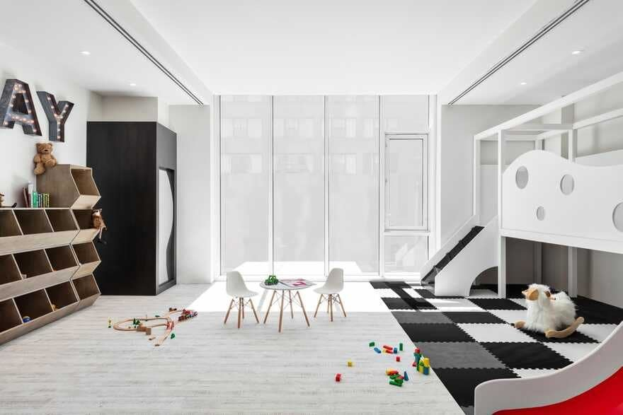 Lemay + Escobar Architecture & ODA Team, kids room